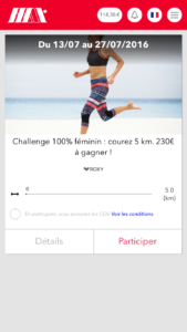 Challenge Roxy sur My Money Time