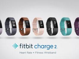 La gamme de bracelets connectés Fitbit Charge 2
