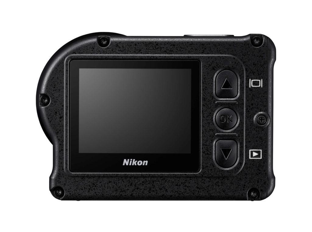 écran de l'action cam Nikon KeyMission 170