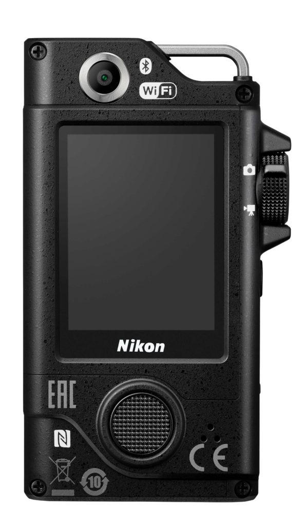 écran de l'action cam Nikon KeyMission 80