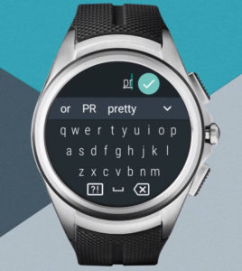 Clavier Android Wear 2.0
