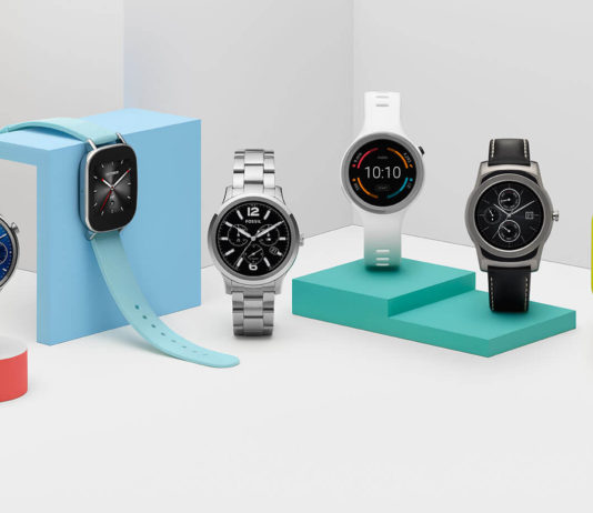 Smartwatch Android Wear 2.0