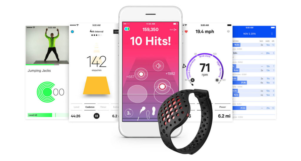 Moov Now Application Smartphone