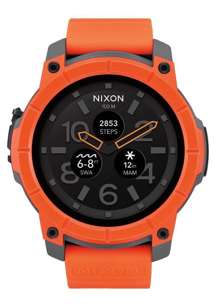 Nixon Mission, une montre GPS Outdoor sous Android Wear