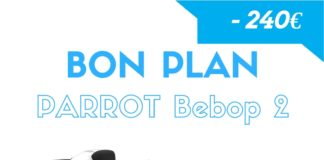 Bon plan Bebop 2 - 240€ de réduction