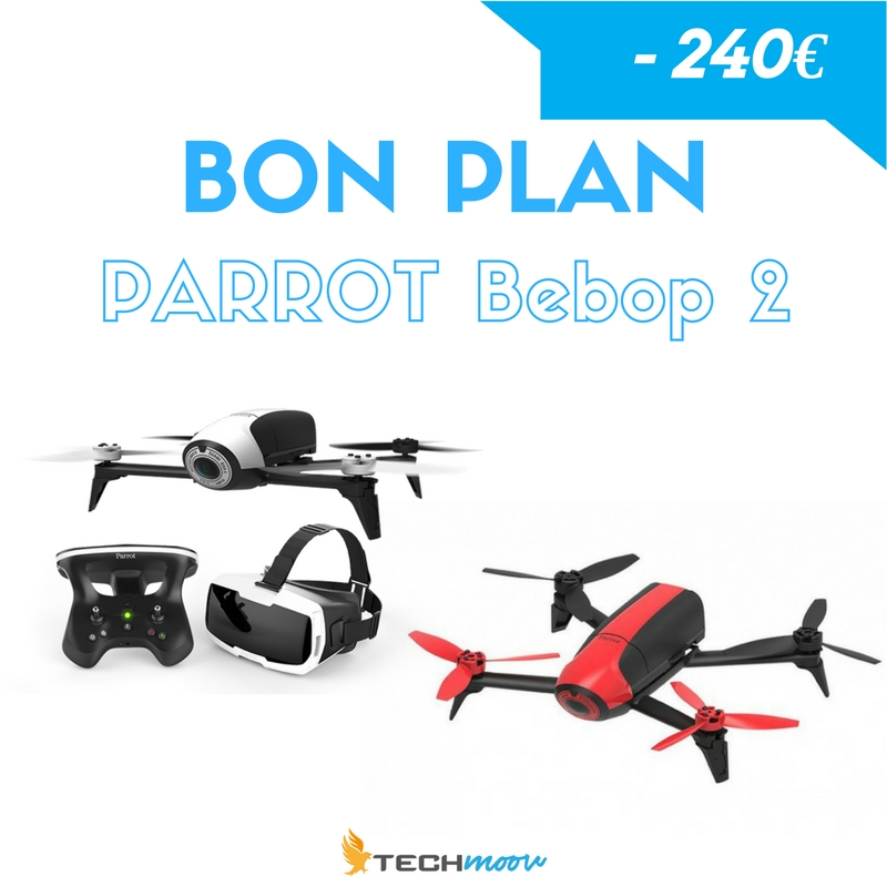 Bon plan Bebop 2 - 240€ de réduction