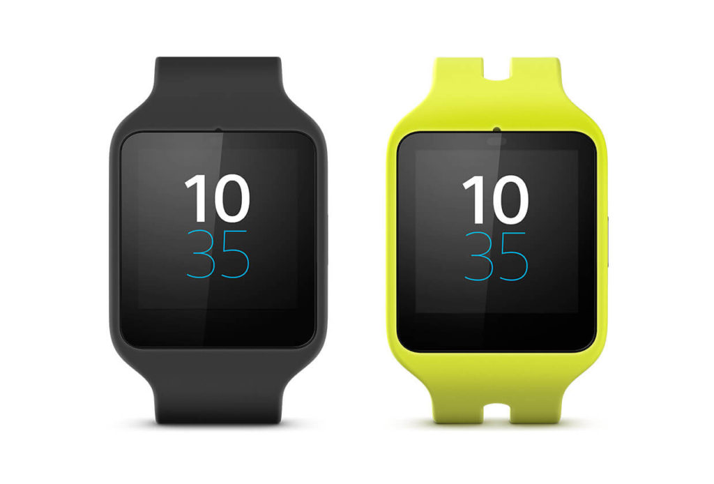 Montre GPS Sony Smartwatch 3