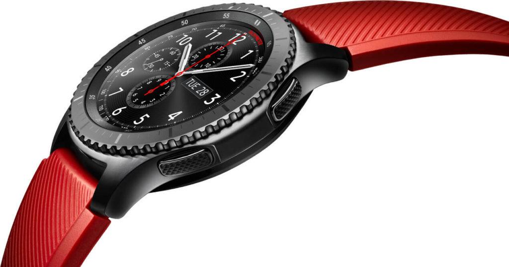 Gear S3 rouge
