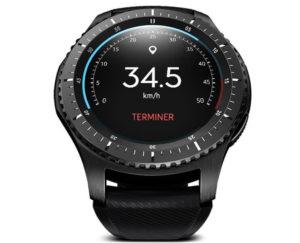 Samsung Gear S3 Frontier compteur vélo