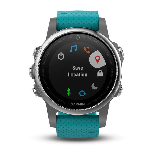 Menu et interface de la Garmin Fenix 5S