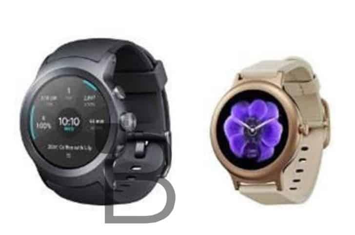 LG Watch Sport et LG Watch Style