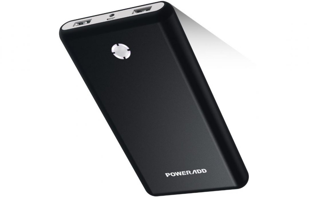 batterie externe 20000mah Poweradd charge rapide