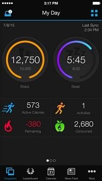 L'application Garmin Connect et le suivi de l'activité