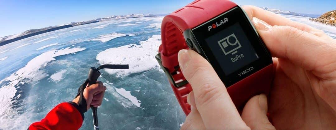 La Polar V800 peut contrôler votre Gopro