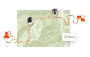 Session sur l'application sportive Strava