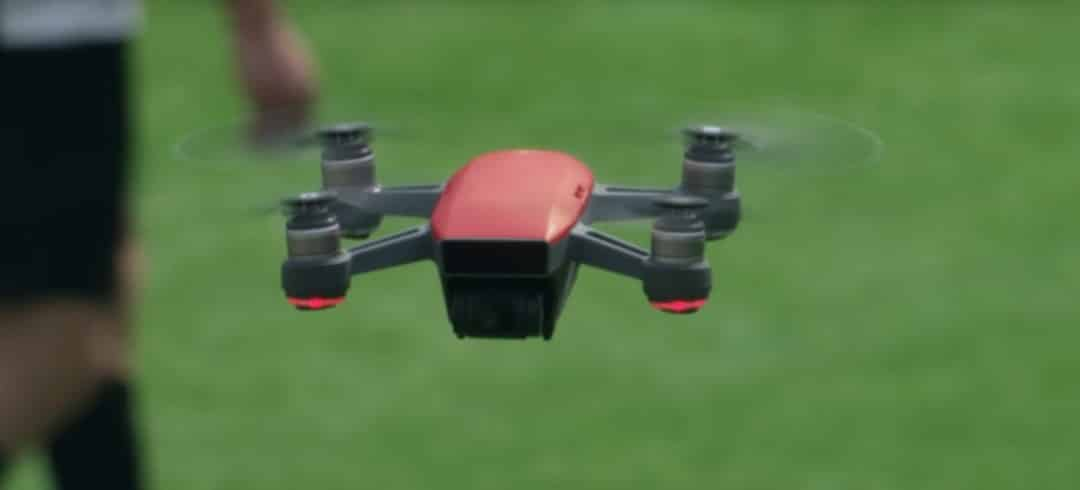 Drone rouge DJI Spark