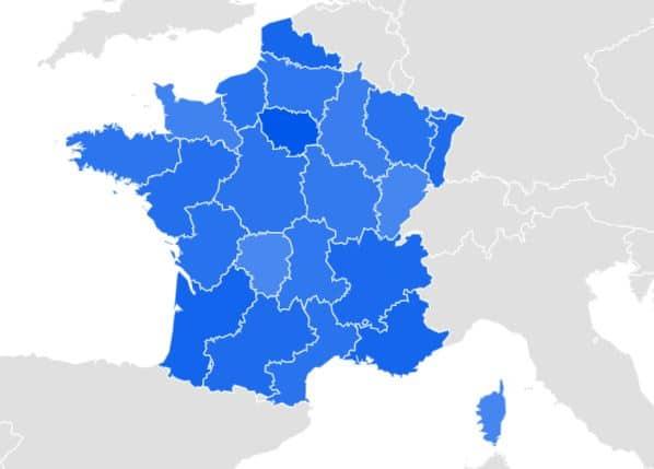 carte France Black friday
