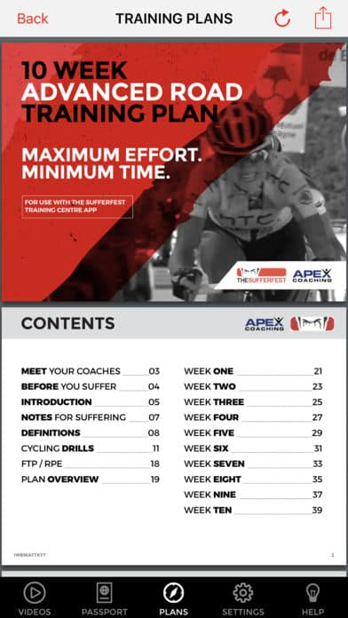 plan entrainement home trainer the sufferfest