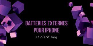 batterie externe pour iphone