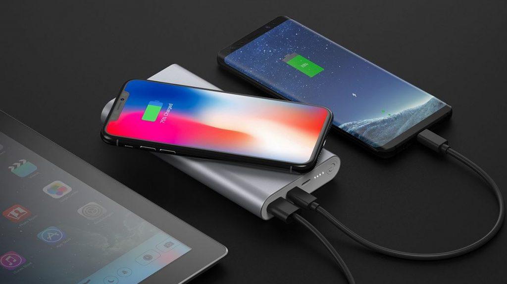 système recharge iphone sans fil Qi